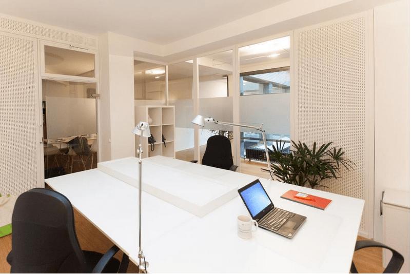 Freie Büroflachen – Mehr-Personen-Büro