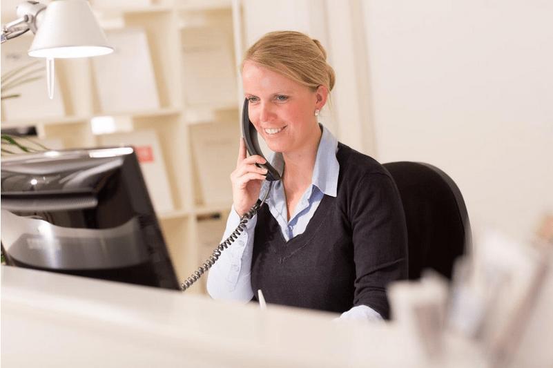 Freie Büroflachen – Empfang
