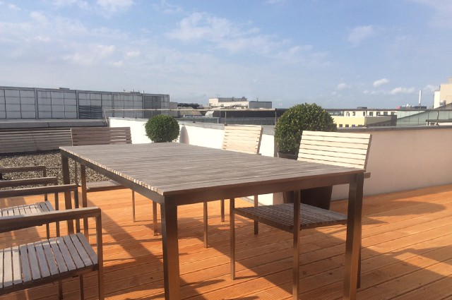 dachterrasse1 lilienhof business center hamburg. Black Bedroom Furniture Sets. Home Design Ideas