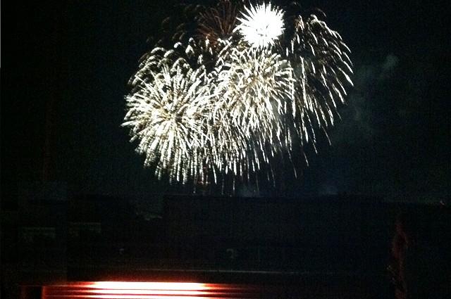 Gratis Feuerwerk