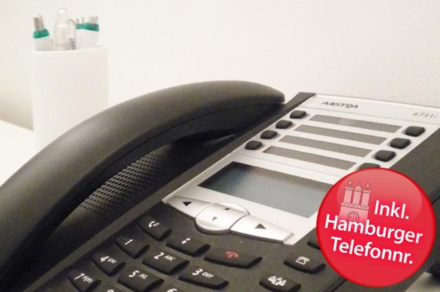 Inkl. Hamburger Telefonnummer